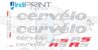Cervelo R5 Decal Set